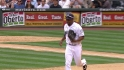 Figgins' leaping catch