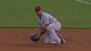Pujols with a nice stop