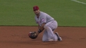 Pujols&#039; nice stop