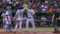 Peguero&#039;s go-ahead two-run homer