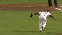 Polanco's barehanded grab