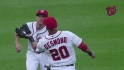 Desmond&#039;s over-the-shoulder grab