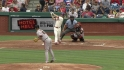 Hamels&#039; first career homer