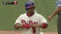 Victorino&#039;s 1,000th hit