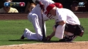 Aybar's injury