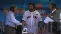 Varitek on his day at Fenway