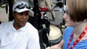 Meggie talks to Barry Larkin