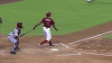 Young&#039;s three-run shot