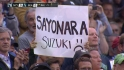 Ichiro&#039;s warm ovation