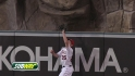 Bourjos&#039; leaping catch