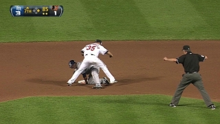 Fuld's 1st steal of the season
