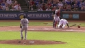 Beltre exits after being hit