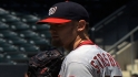 Strasburg dominates Mets