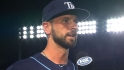 Roberts on his Rays debut