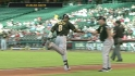 Marte&#039;s first career homer