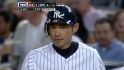 Ichiro&#039;s first home hit