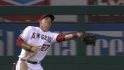 Trout's running grab