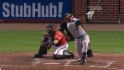 Cespedes&#039; two-run shot