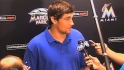 Eovaldi on debut with Marlins