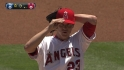 Greinke&#039;s first Angels K