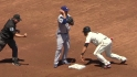 Kershaw picks off Pagan