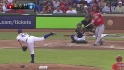 Trout's two-run homer