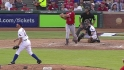 Morales' two-run shot
