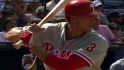 Pence&#039;s last at-bat with Phils