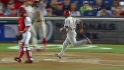 Rollins' inside-the-park homer