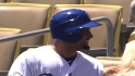 Victorino&#039;s Dodgers debut