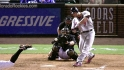 Holliday&#039;s three-run jack