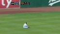 Cespedes' tough catch