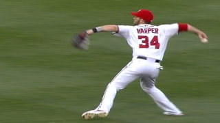 Harper's run saving throw