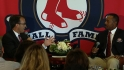 Burks on joining Red Sox Hall