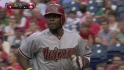Upton's 100th career homer