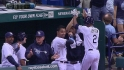 Upton hits 100th career homer