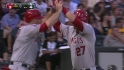 Trout&#039;s two-run tater