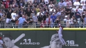 Trout's spectacular catch