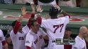 Ciriaco's first career home run