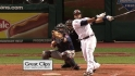 Santana&#039;s two-run blast