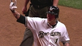 CIN@MIL: Hart follows Aramis with a solo blast