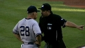 Girardi argues with umpire