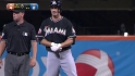 Green&#039;s first Marlins hit