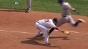 Middlebrooks&#039; barehanded play