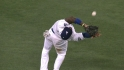Hanley's tough grab