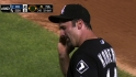 Konerko gets hit in the head