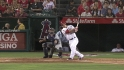 Trout's three-run homer