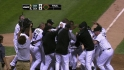 Danks' walk-off homer