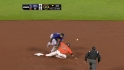 Melky steals second