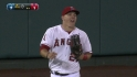 Trout takes back a homer
